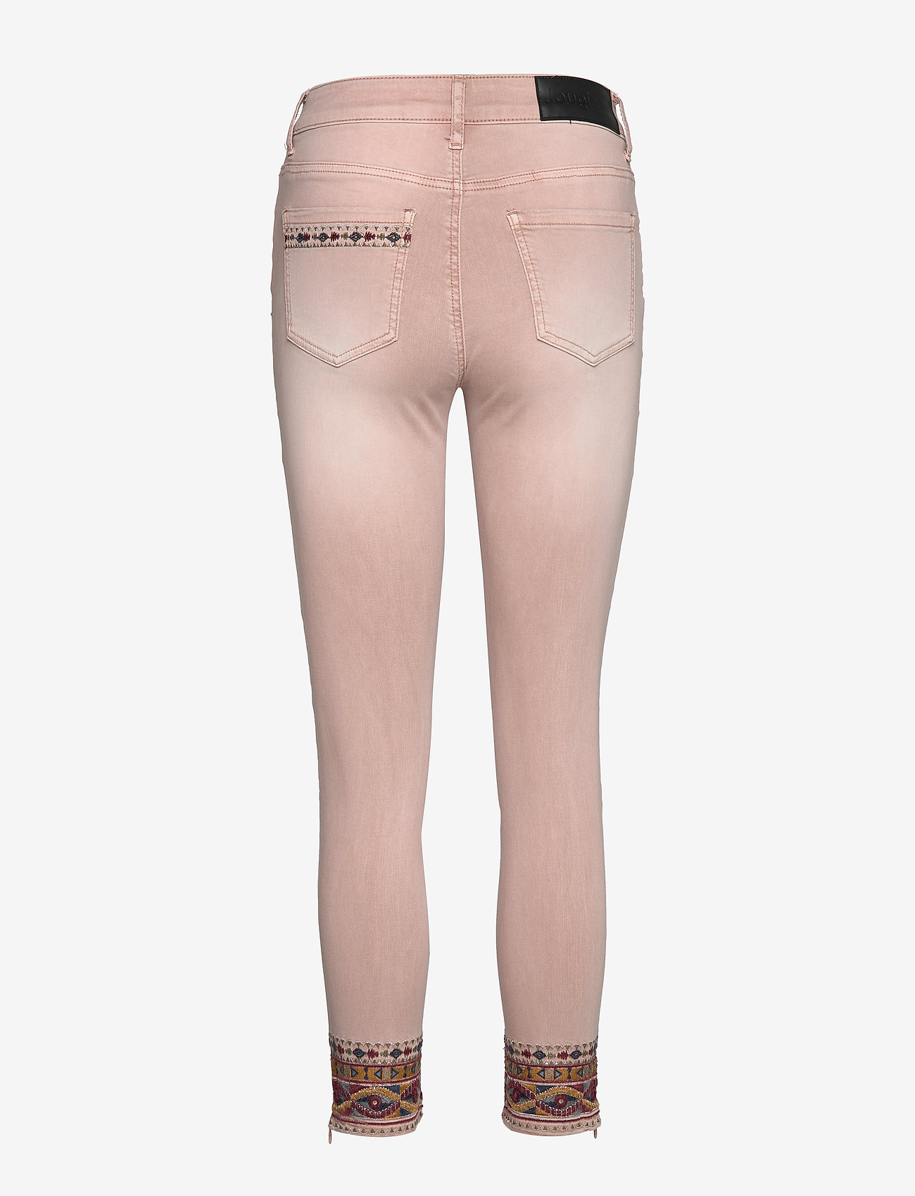 Desigual - PANT AFRI - jeans slim - rosa palo - 1