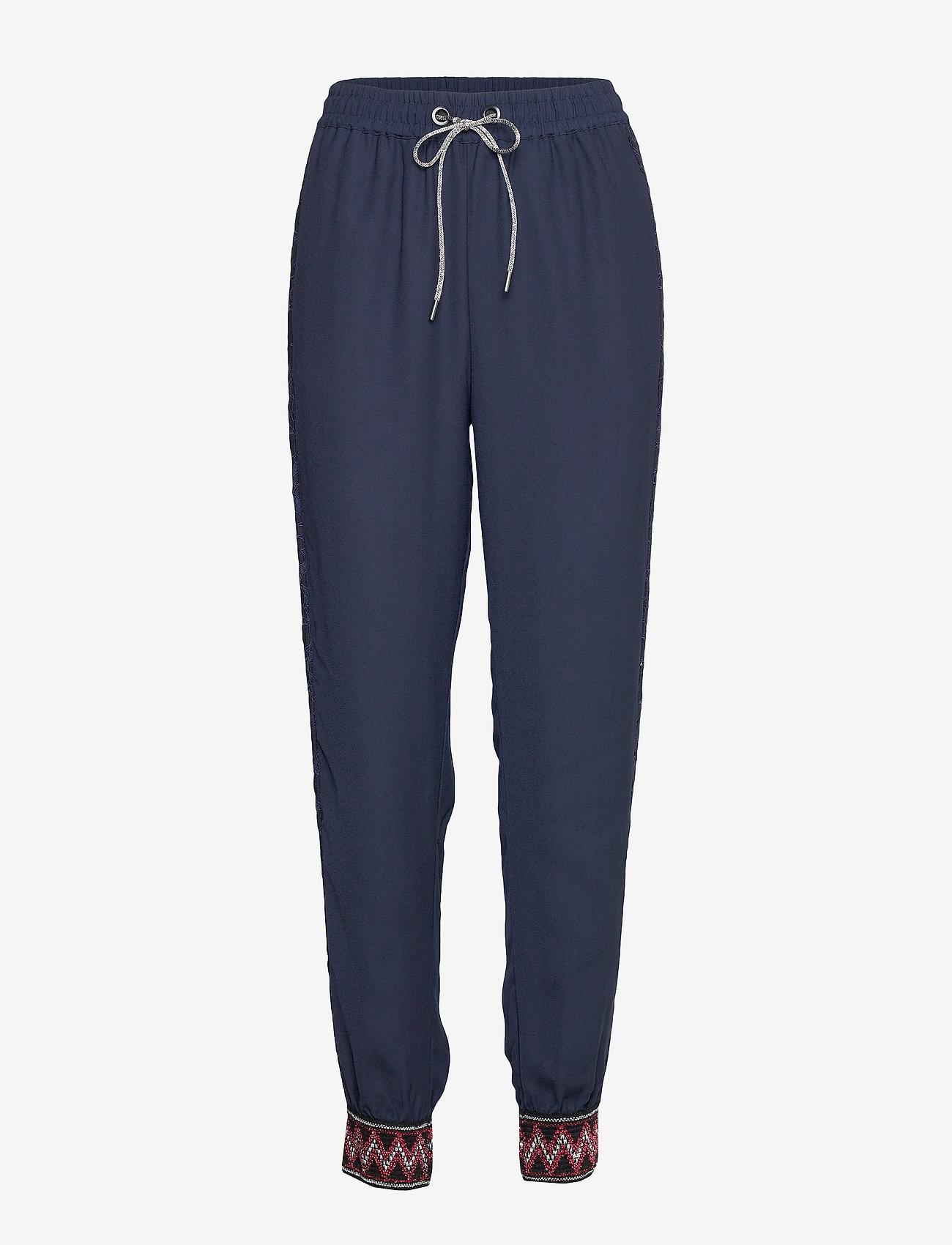 Desigual - PANT ISABELLA - pantalons casual - marino - 0