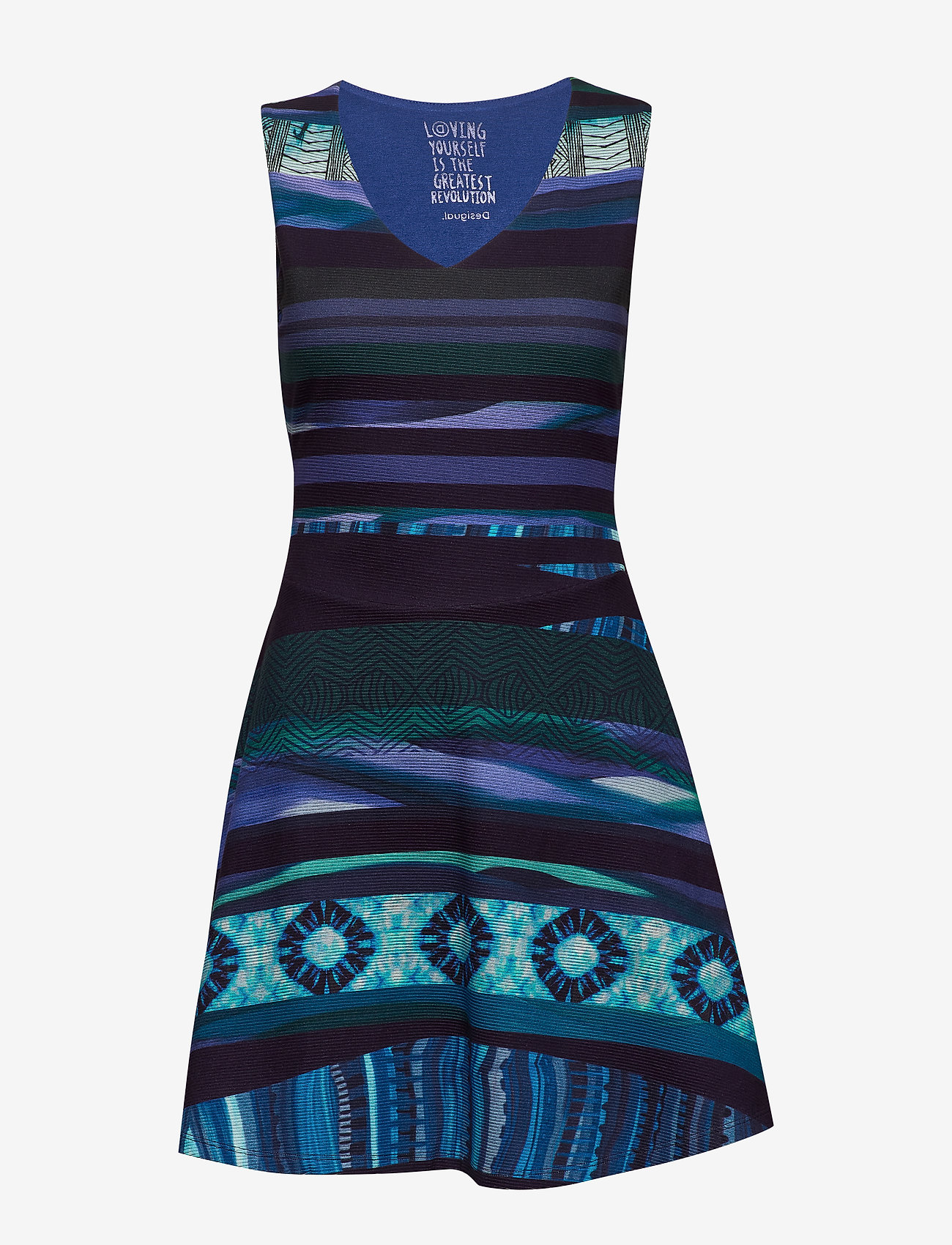 Desigual - VEST DUNA - korte jurken - azul tinta - 0