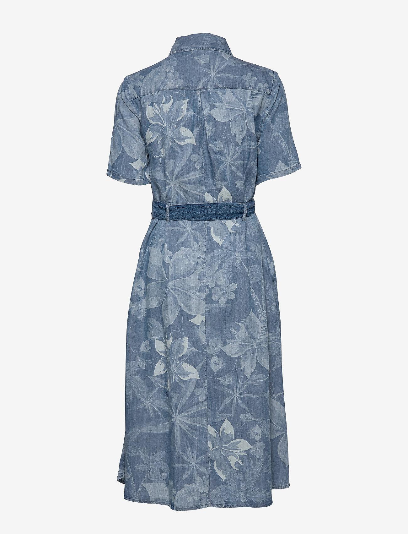 Desigual - VEST KATE - blousejurken - multicolor azul - 1