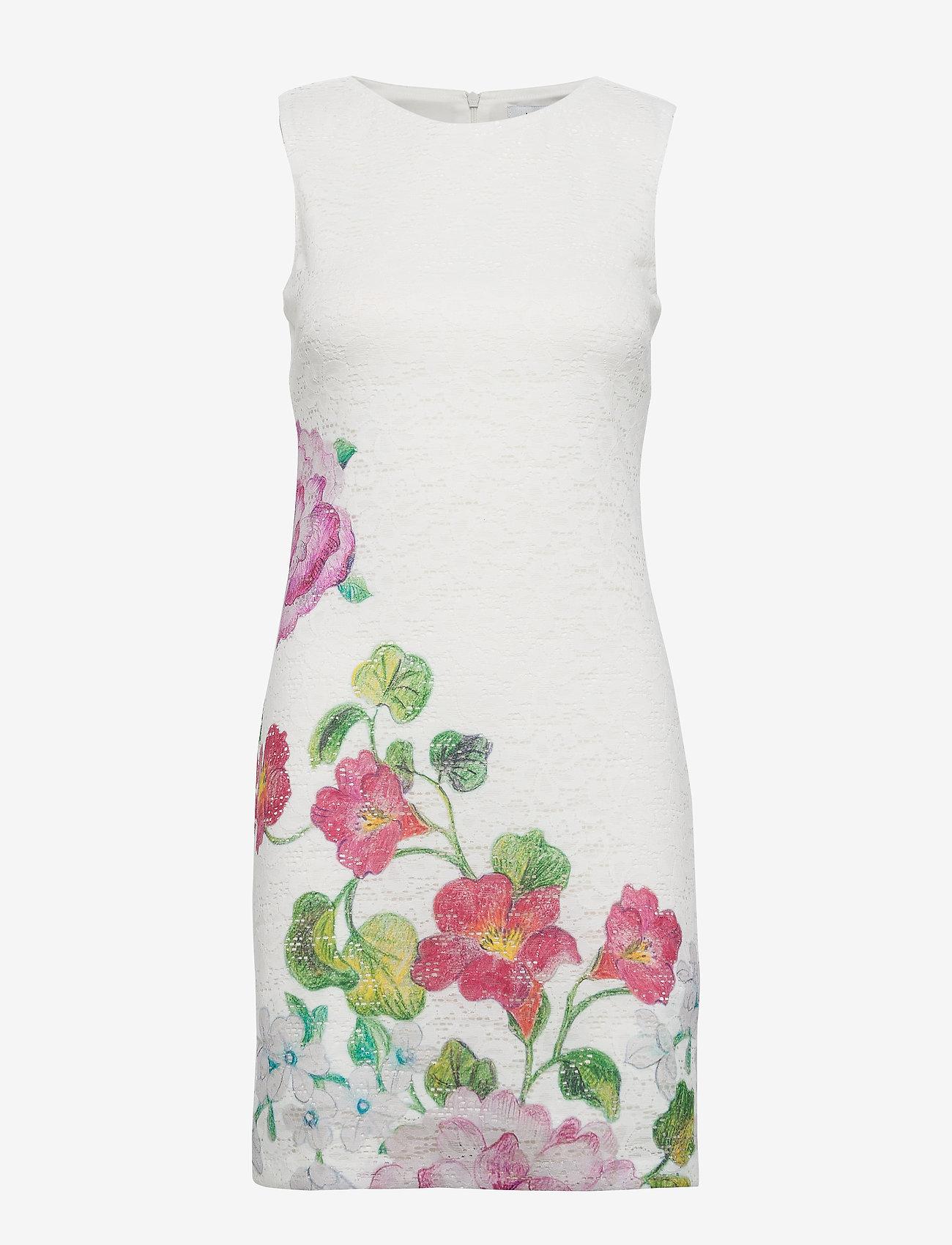 Desigual - VEST BONNEY - korte jurken - crudo - 0