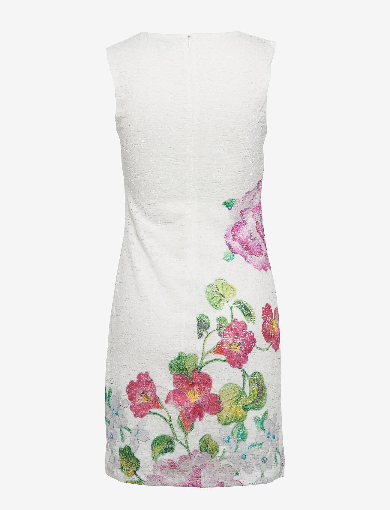 Desigual - VEST BONNEY - korte jurken - crudo - 1