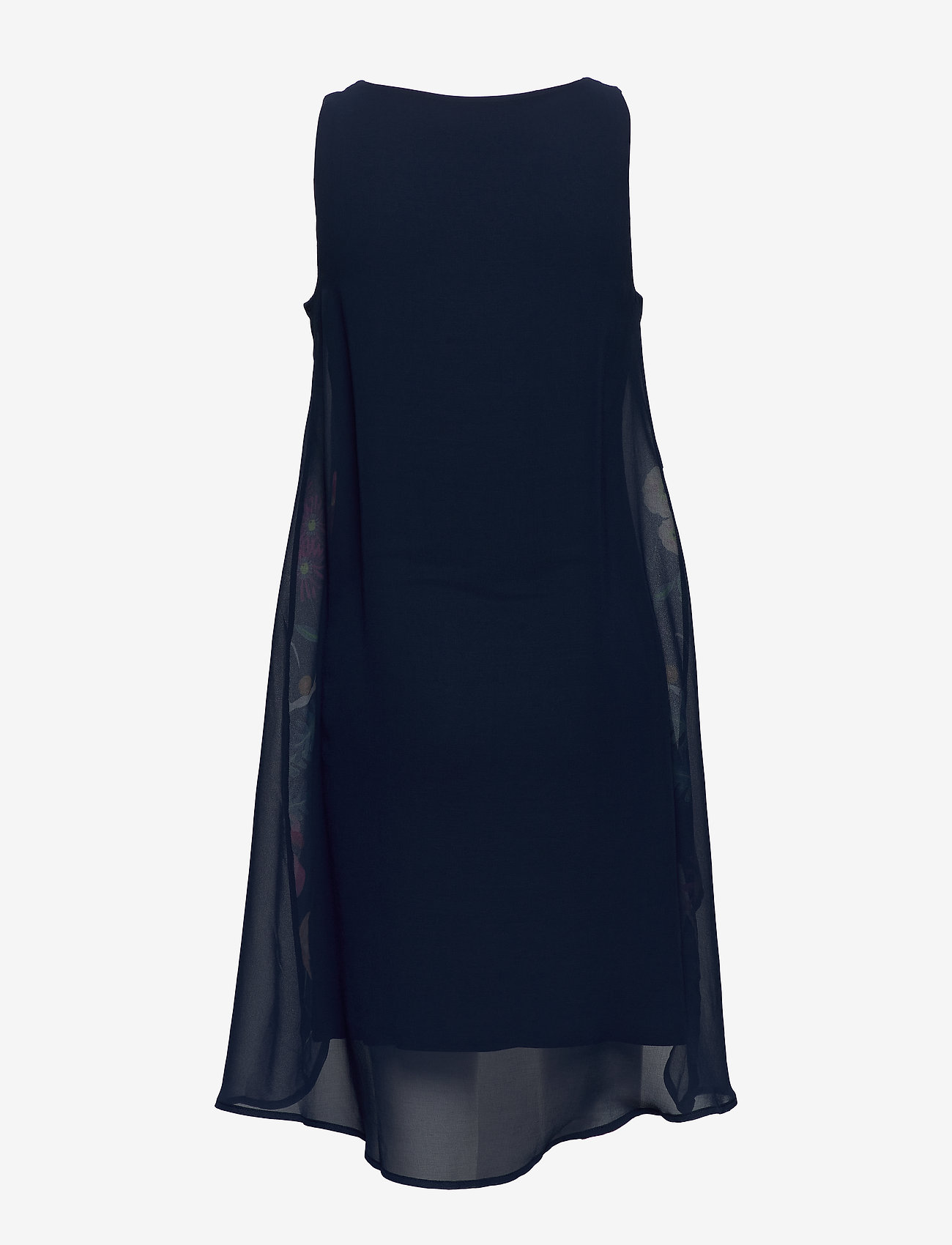Desigual - VEST CARNEGIE - korte jurken - azul tinta - 1