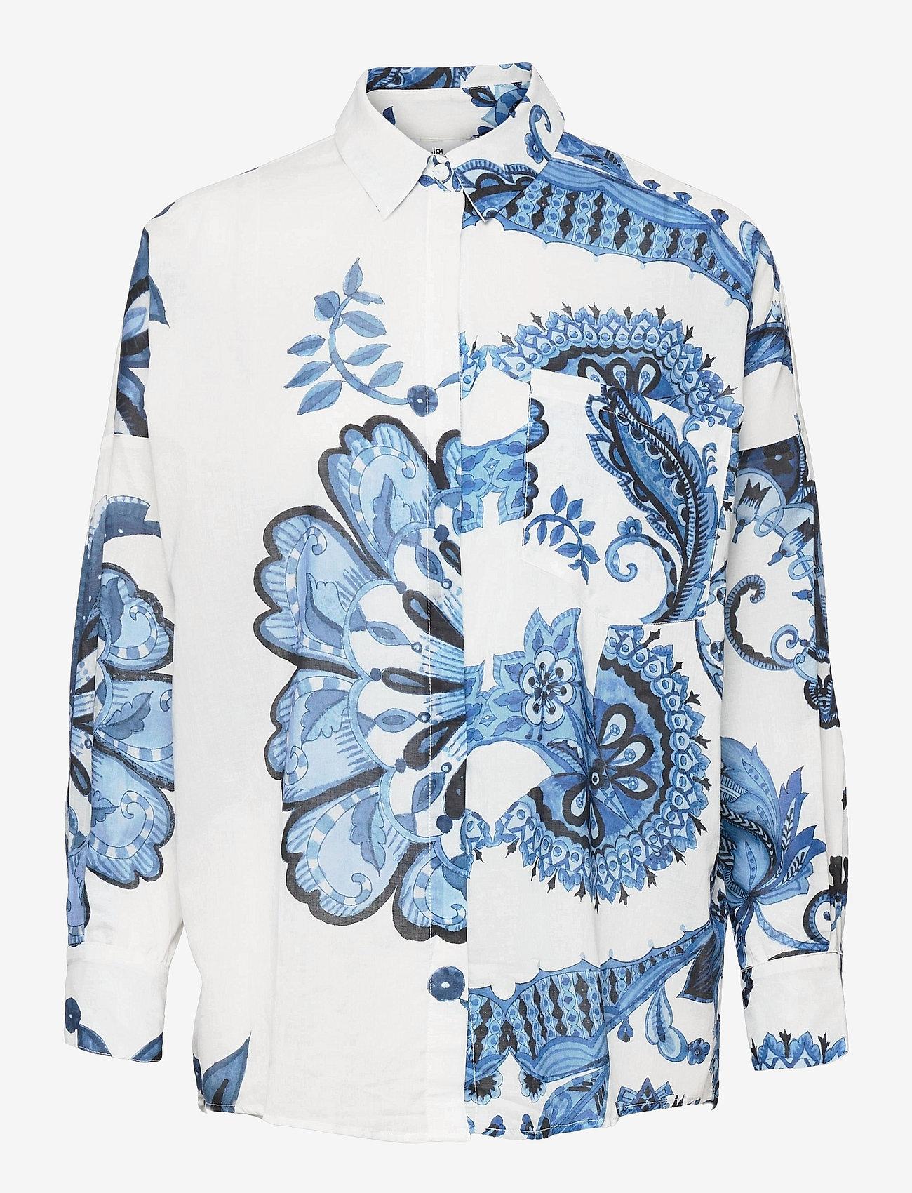 Desigual - CAM INARA - långärmade skjortor - blanco - 0