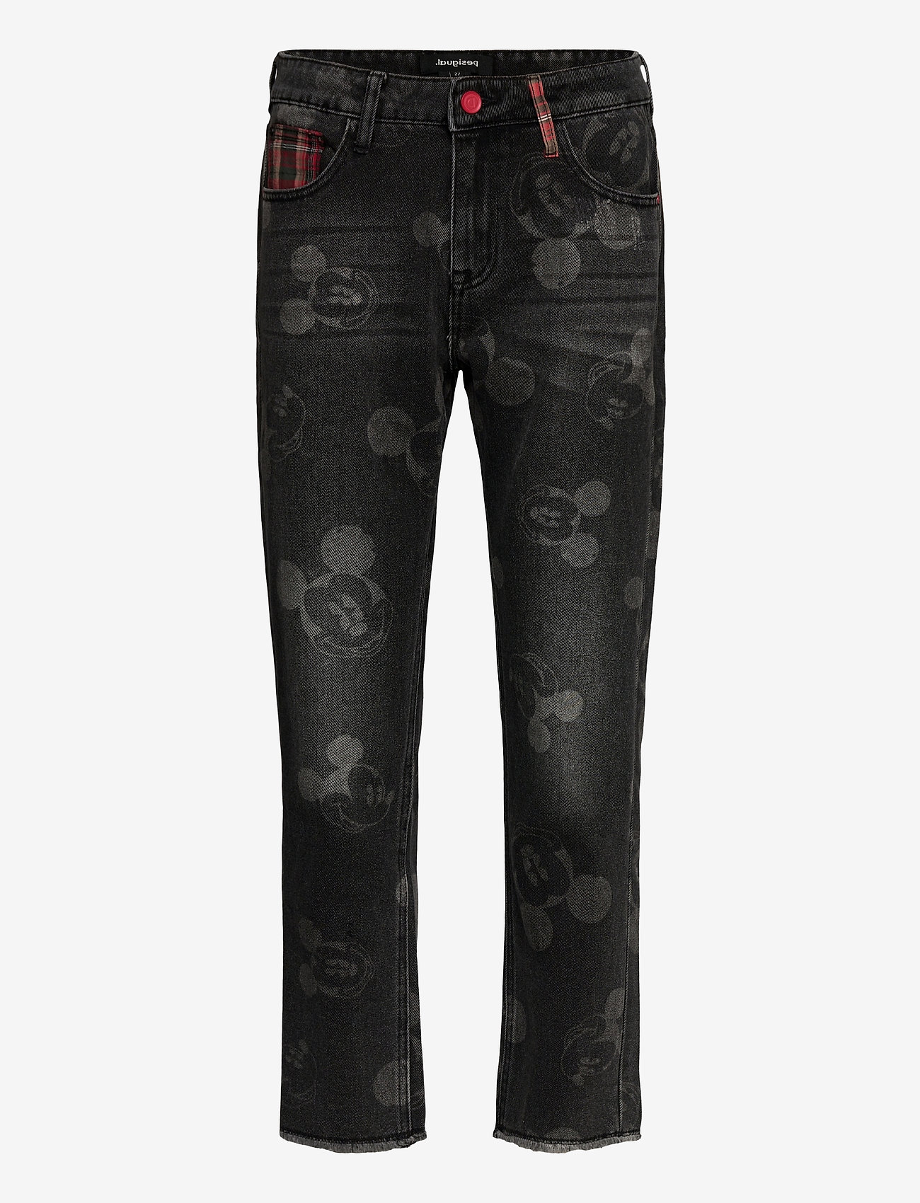 Desigual - DENIM MERY - straight jeans - denim black wash - 0