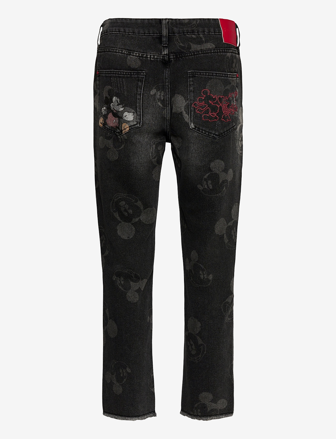 Desigual - DENIM MERY - straight jeans - denim black wash - 1