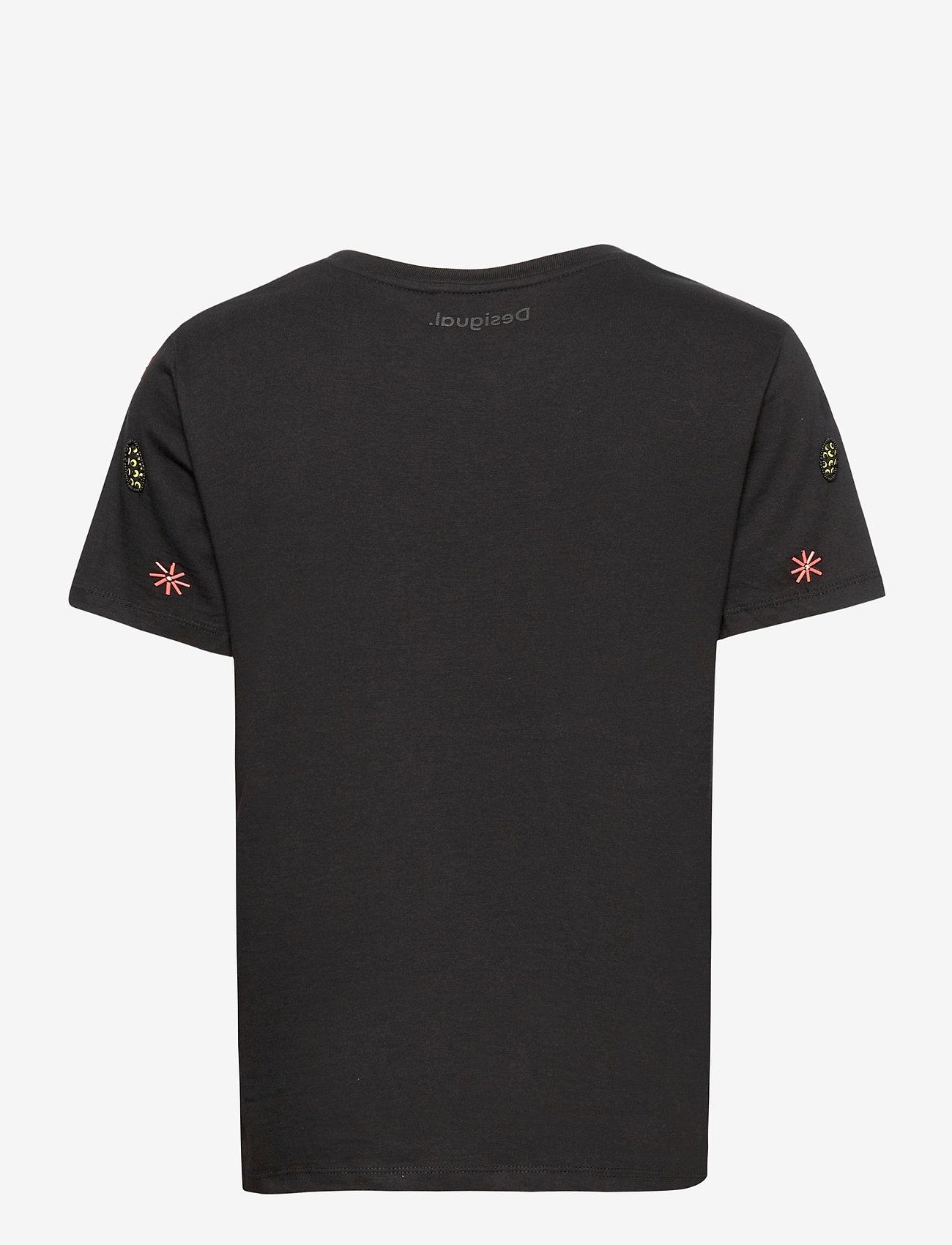 Desigual - TS BRI-YOU - t-shirts - negro - 1