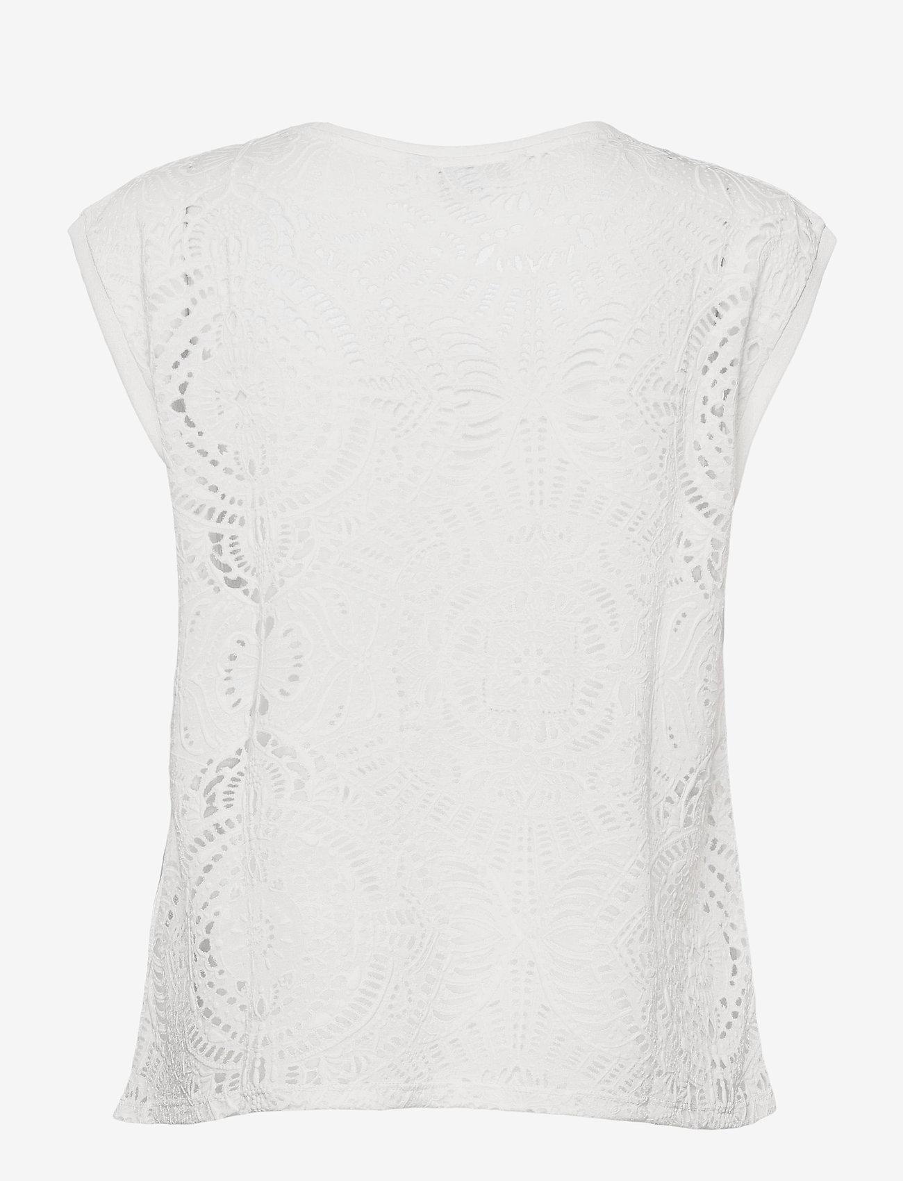 Desigual - TS NILO - t-shirts - blanco - 1