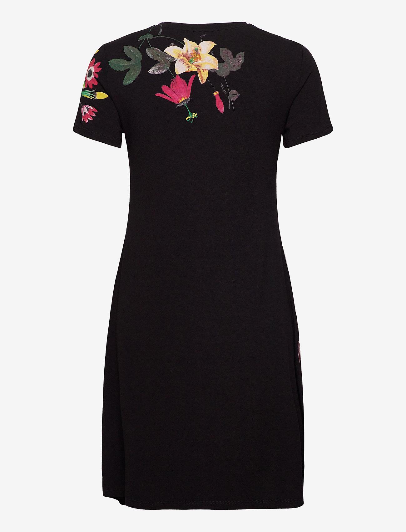 Desigual - VEST CAROLINE - korta klänningar - negro - 1