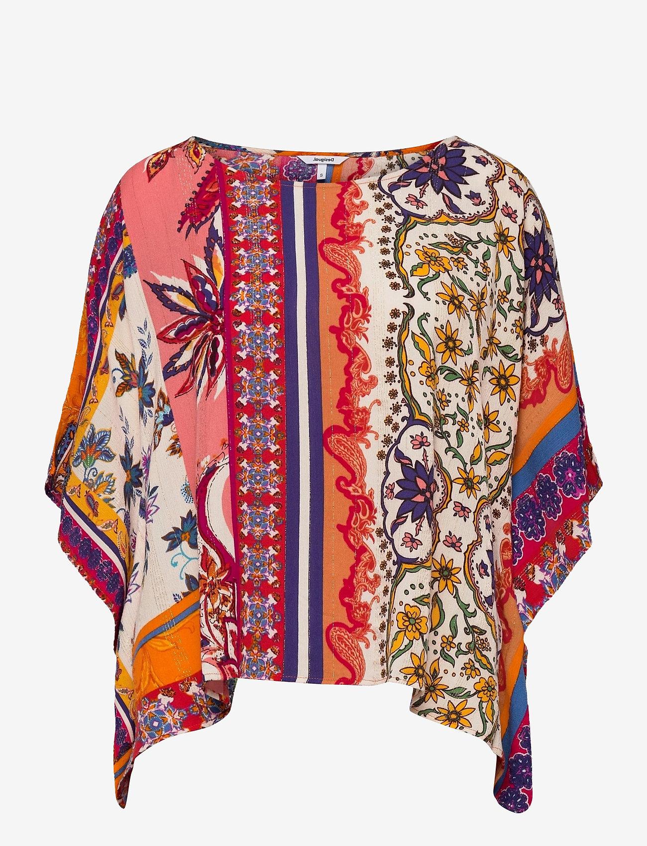 Desigual - BLUS SANDERS - t-shirts - rosa marlen - 0