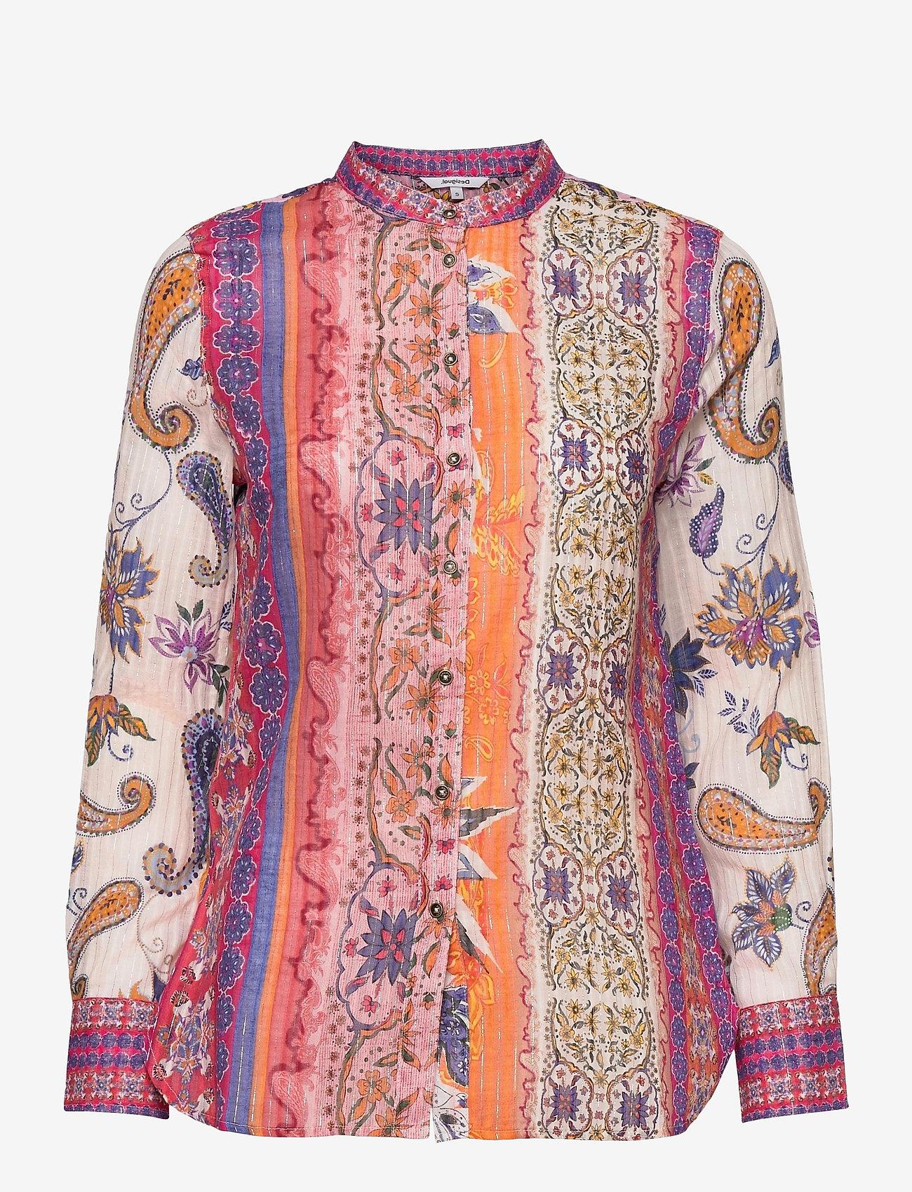 Desigual - CAM BOHO - långärmade skjortor - pink champagne - 0