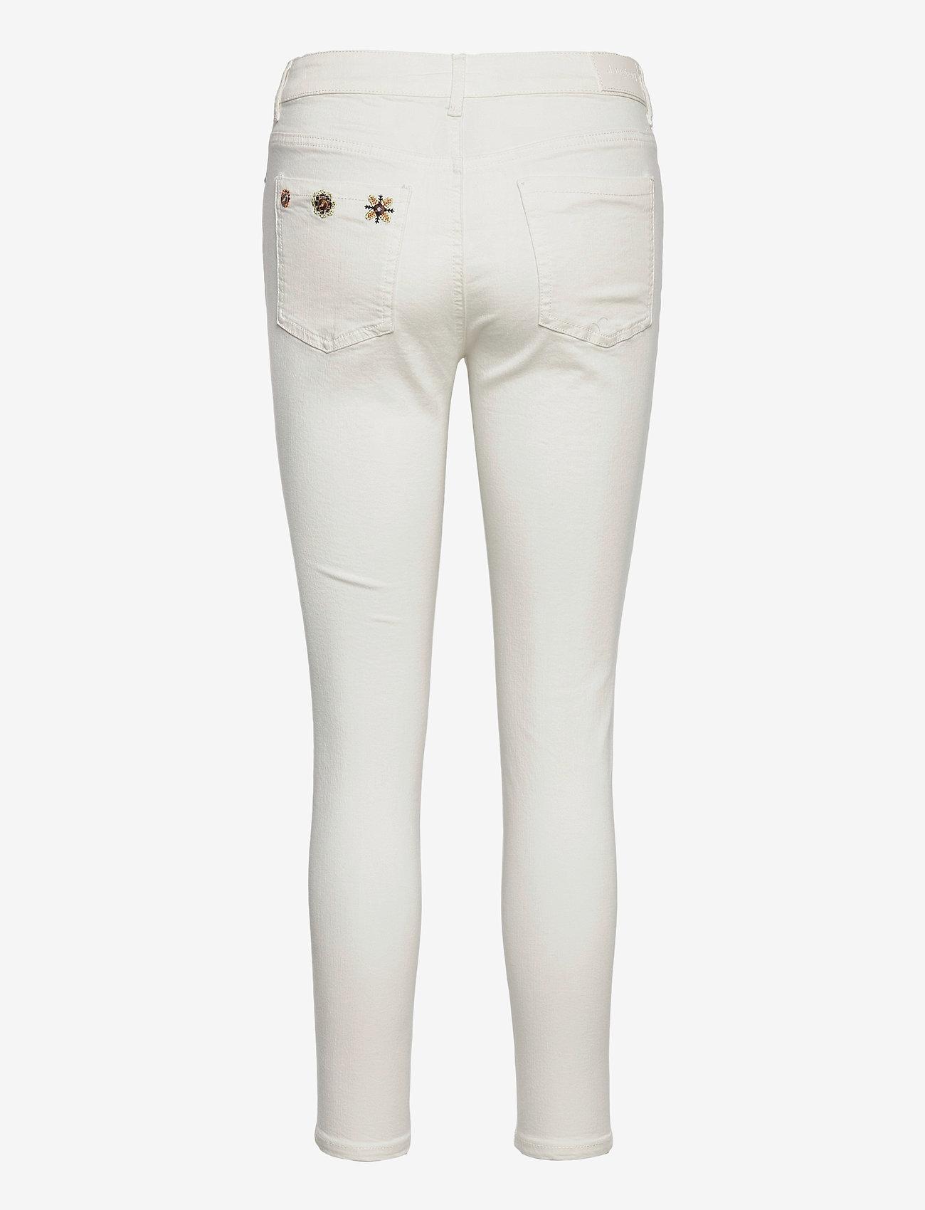 Desigual - DENIM AUSTRIA - slim jeans - blanco nieve - 1