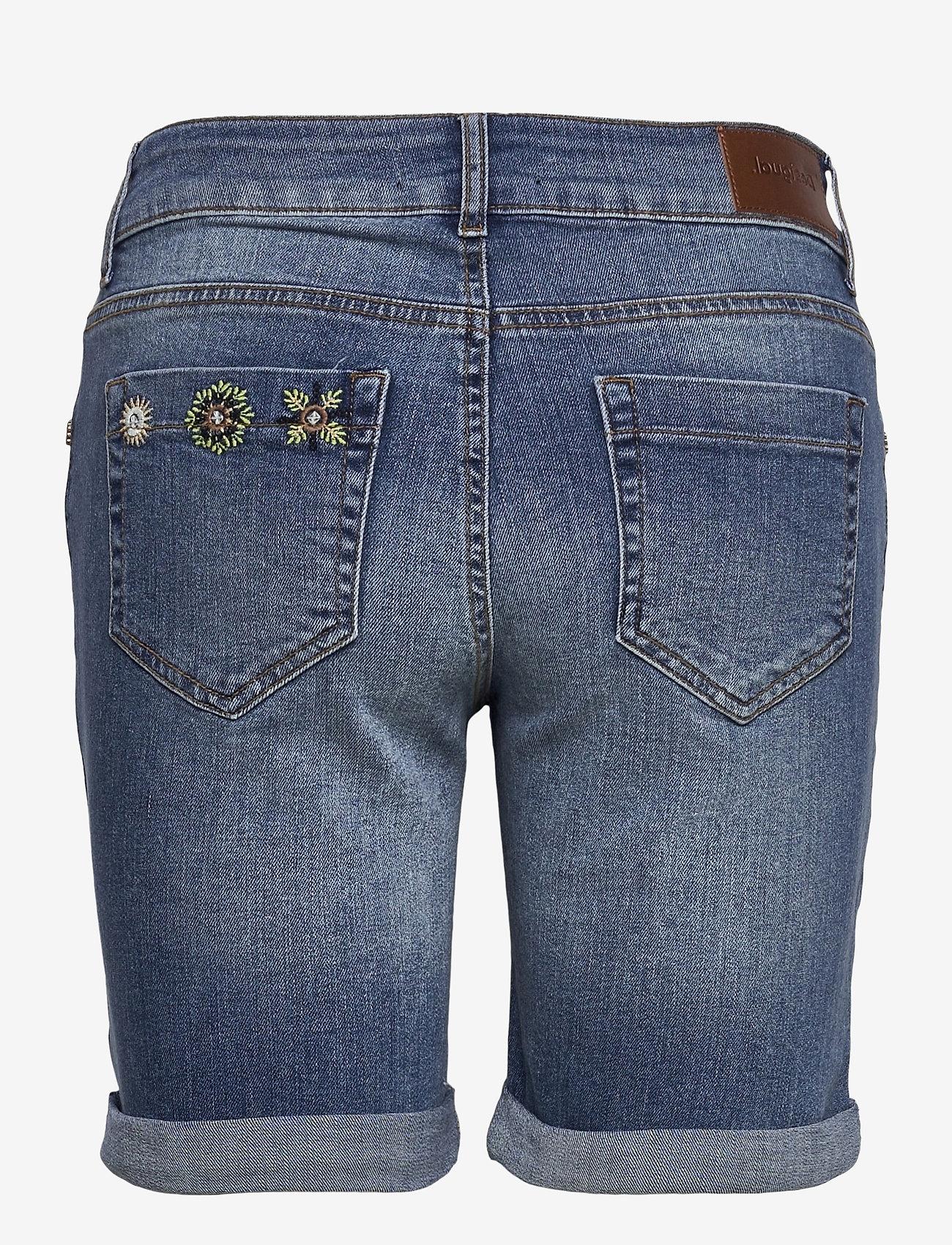 Desigual - DENIM GRECIA - jeansshorts - denim medium wash - 1