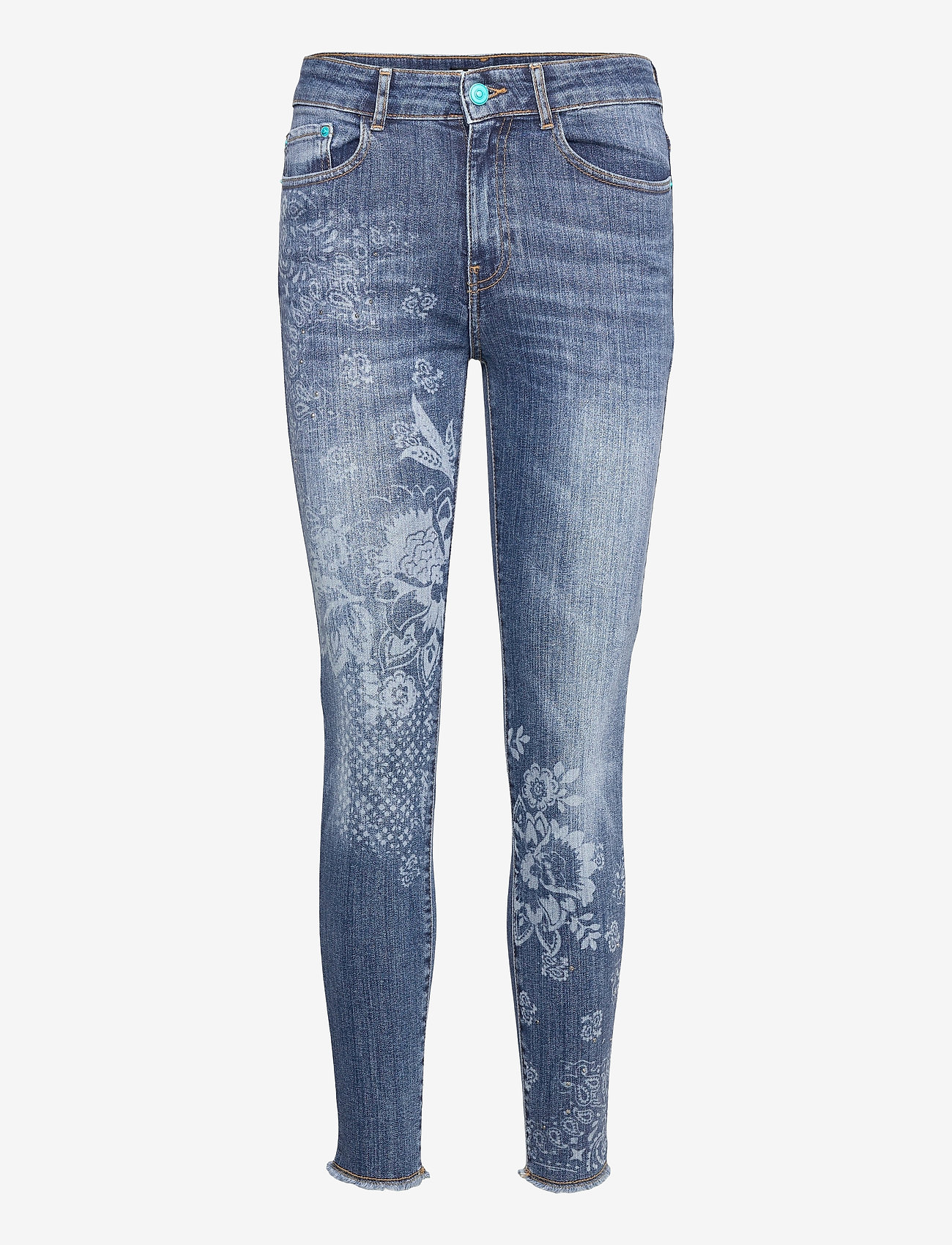 Desigual - DENIM MIAMI SU - skinny jeans - denim dark blue - 0