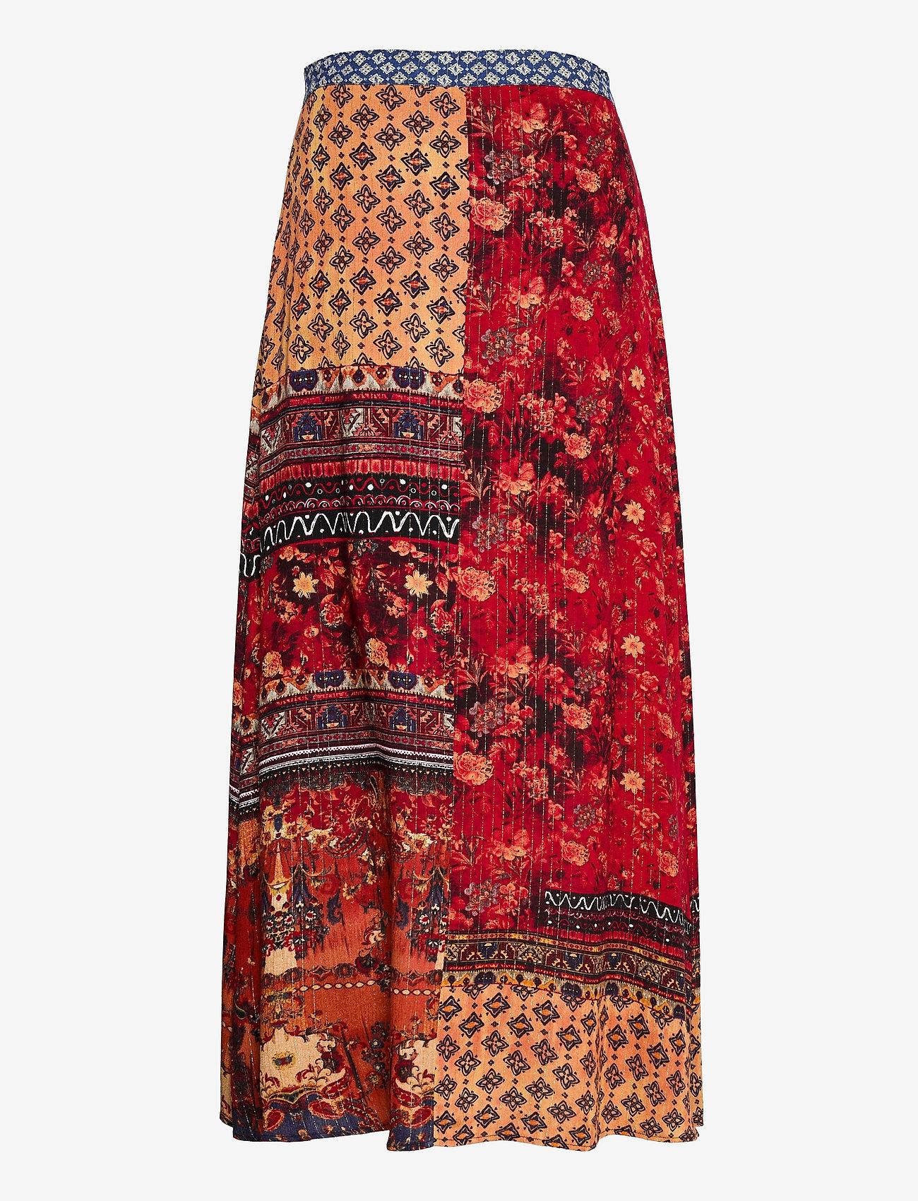 Desigual - FAL BAIKAL - midi kjolar - naranja tierra - 1