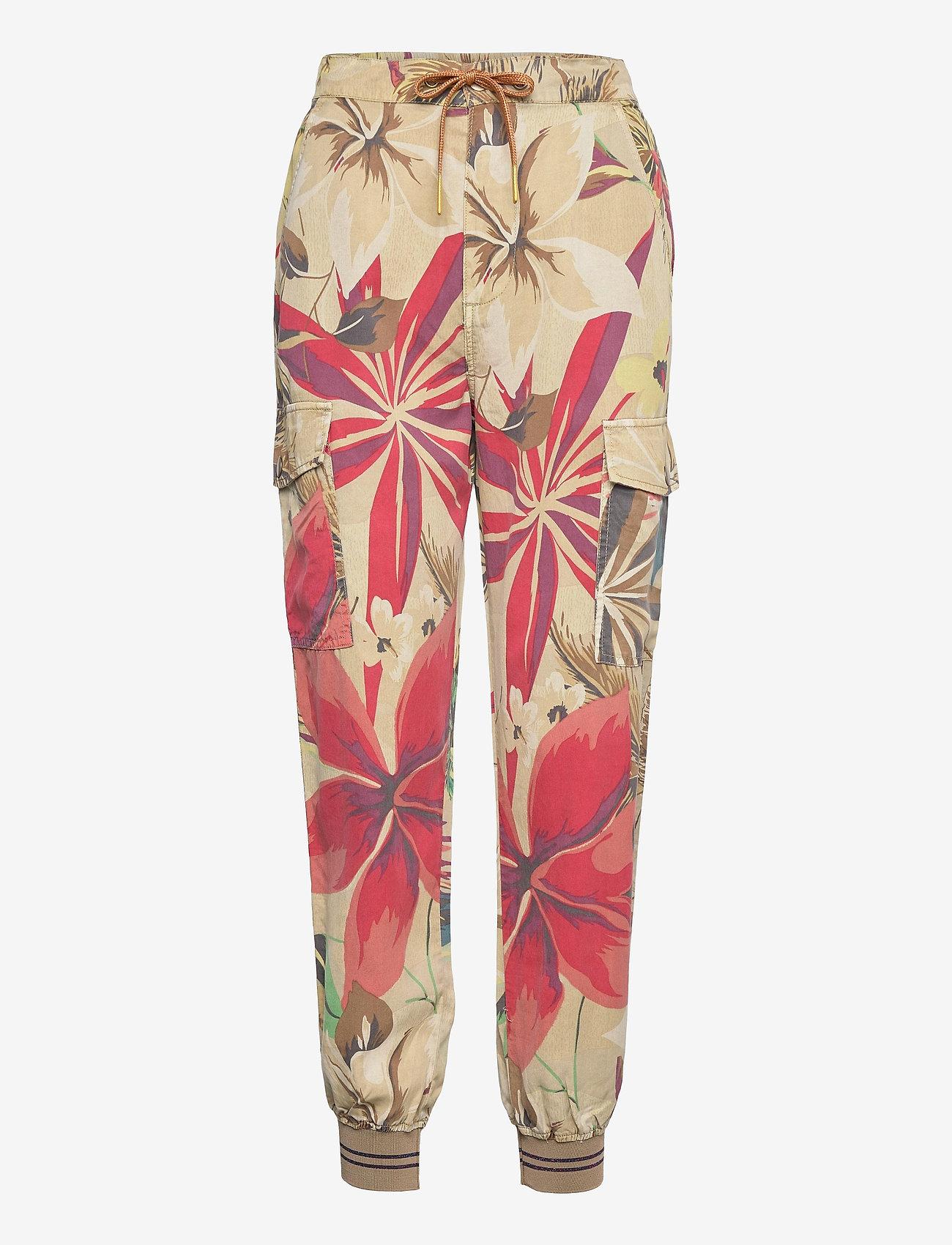Desigual - PANT TOUCHE - kläder - beige safari - 0