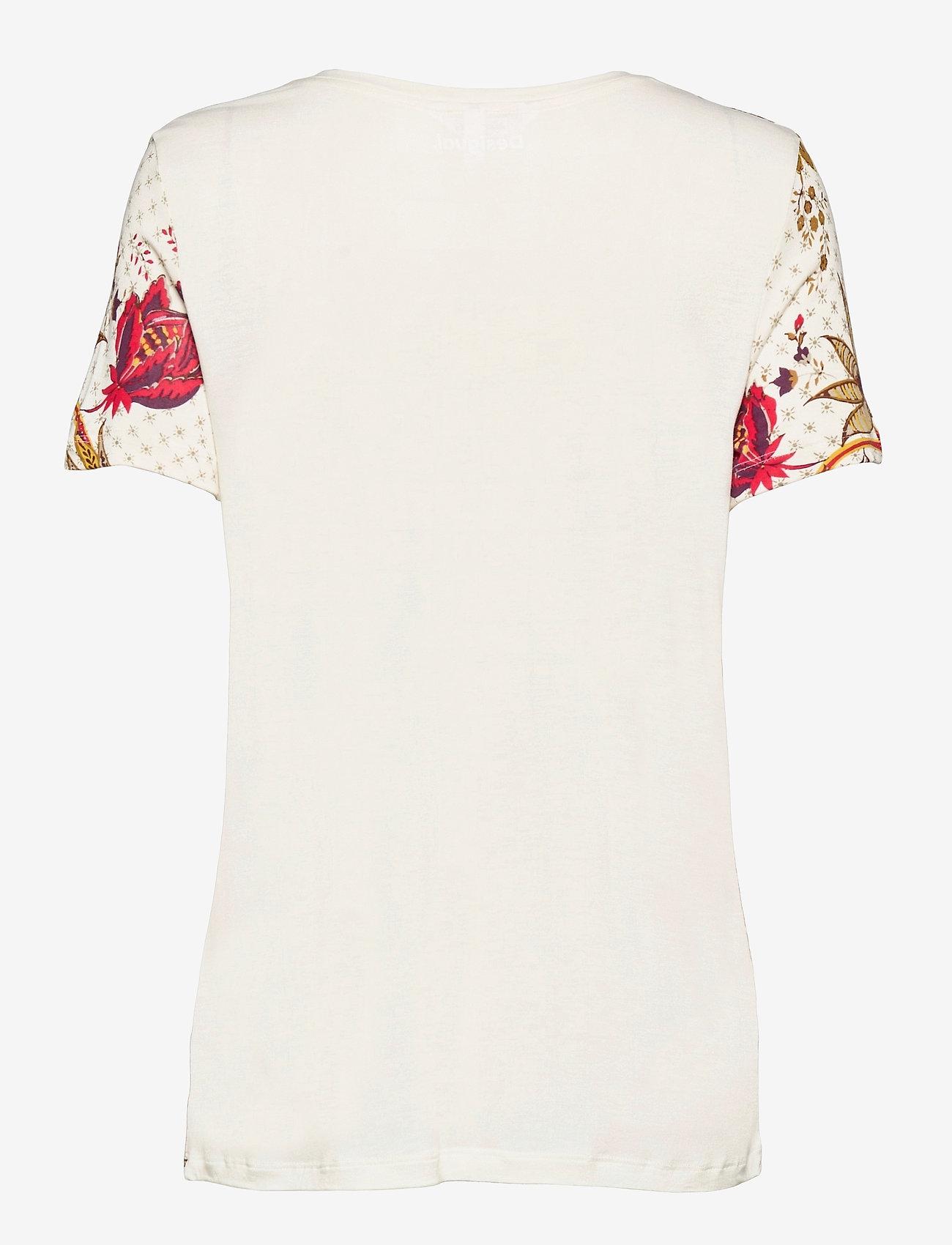 Desigual - TS PRAGA - t-shirts - blanco - 1