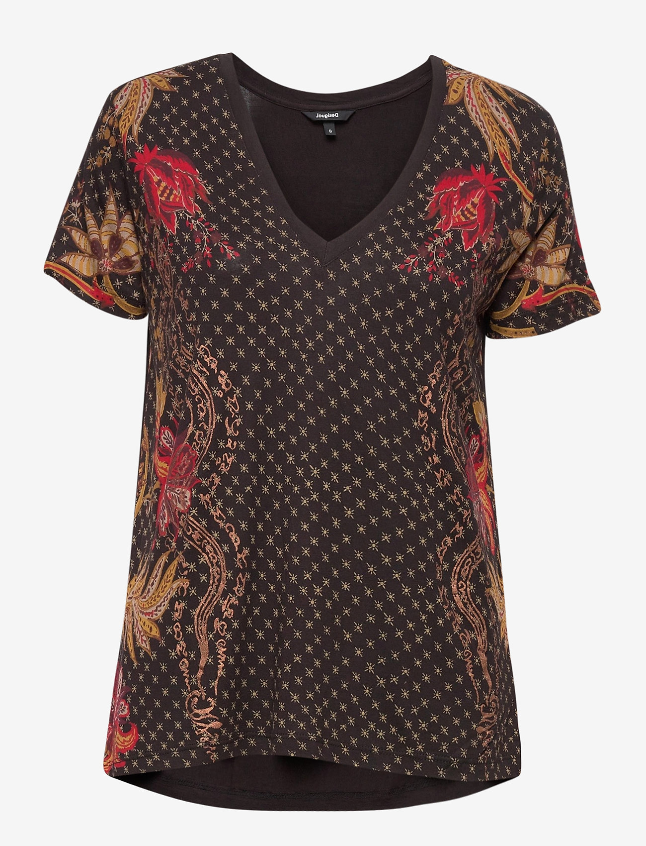 Desigual - TS PRAGA - t-shirts - negro - 0