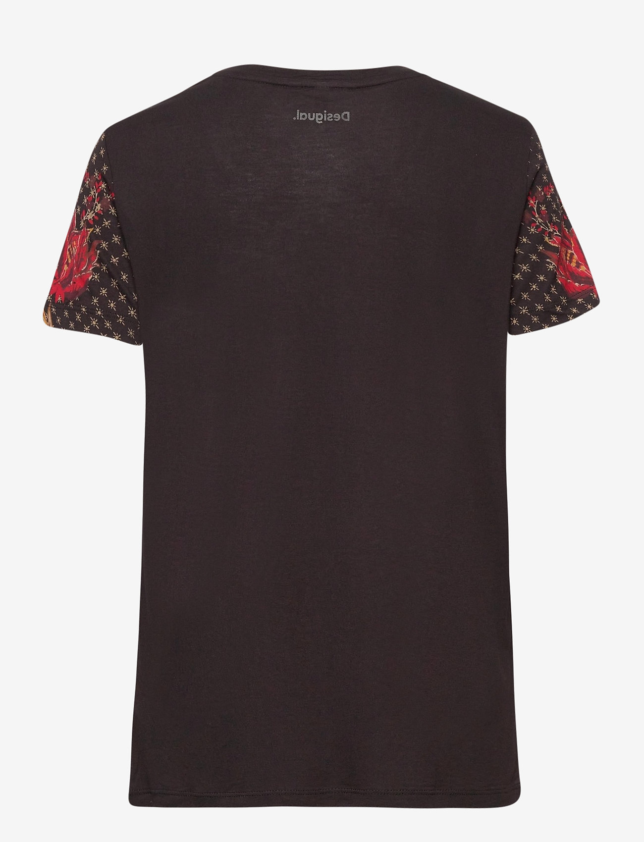Desigual - TS PRAGA - t-shirts - negro - 1