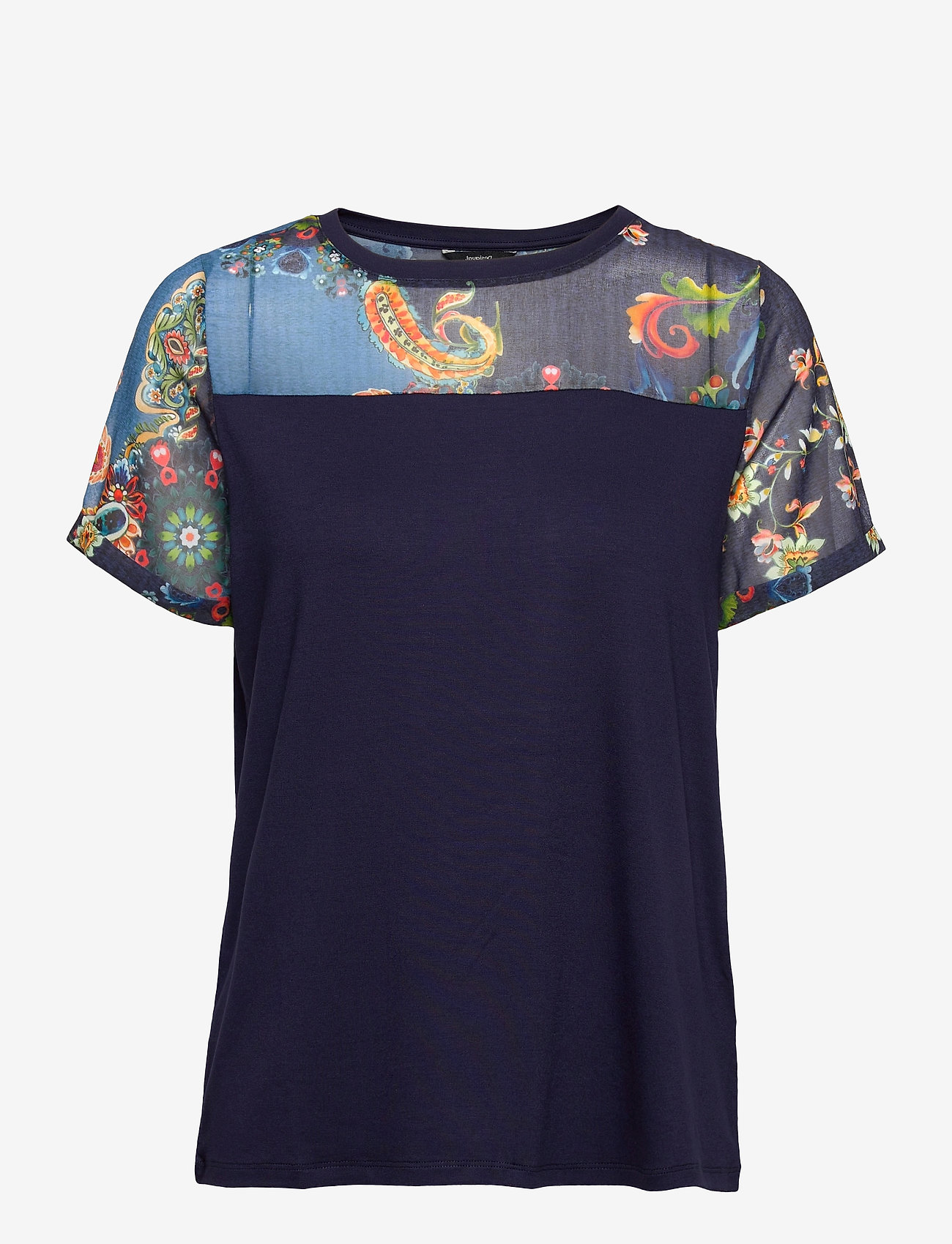 Desigual - TS VIENA - t-shirts - peacoat - 0