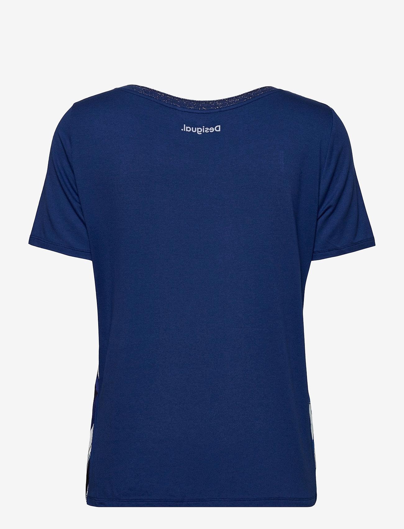 Desigual - TS PALS - t-shirts - estate blue - 1