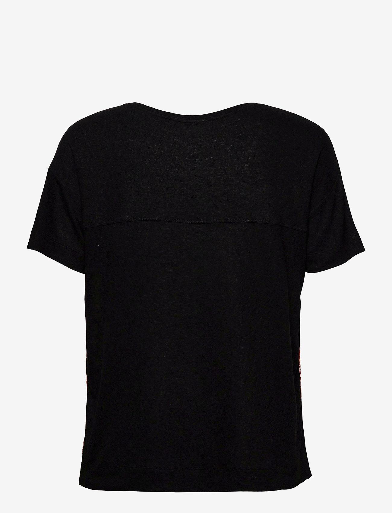 Desigual - TS LOMBOK - t-shirts - negro - 1