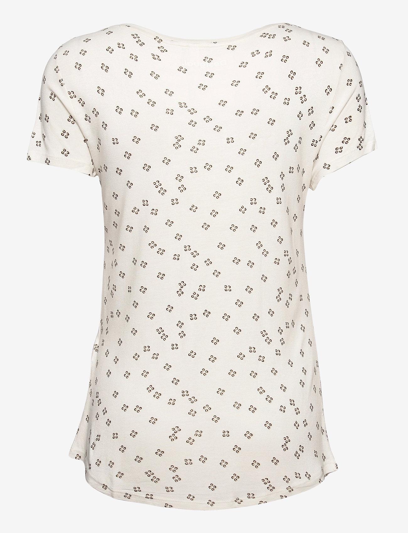 Desigual - TS ESTAMBUL - t-shirts - crudo - 1