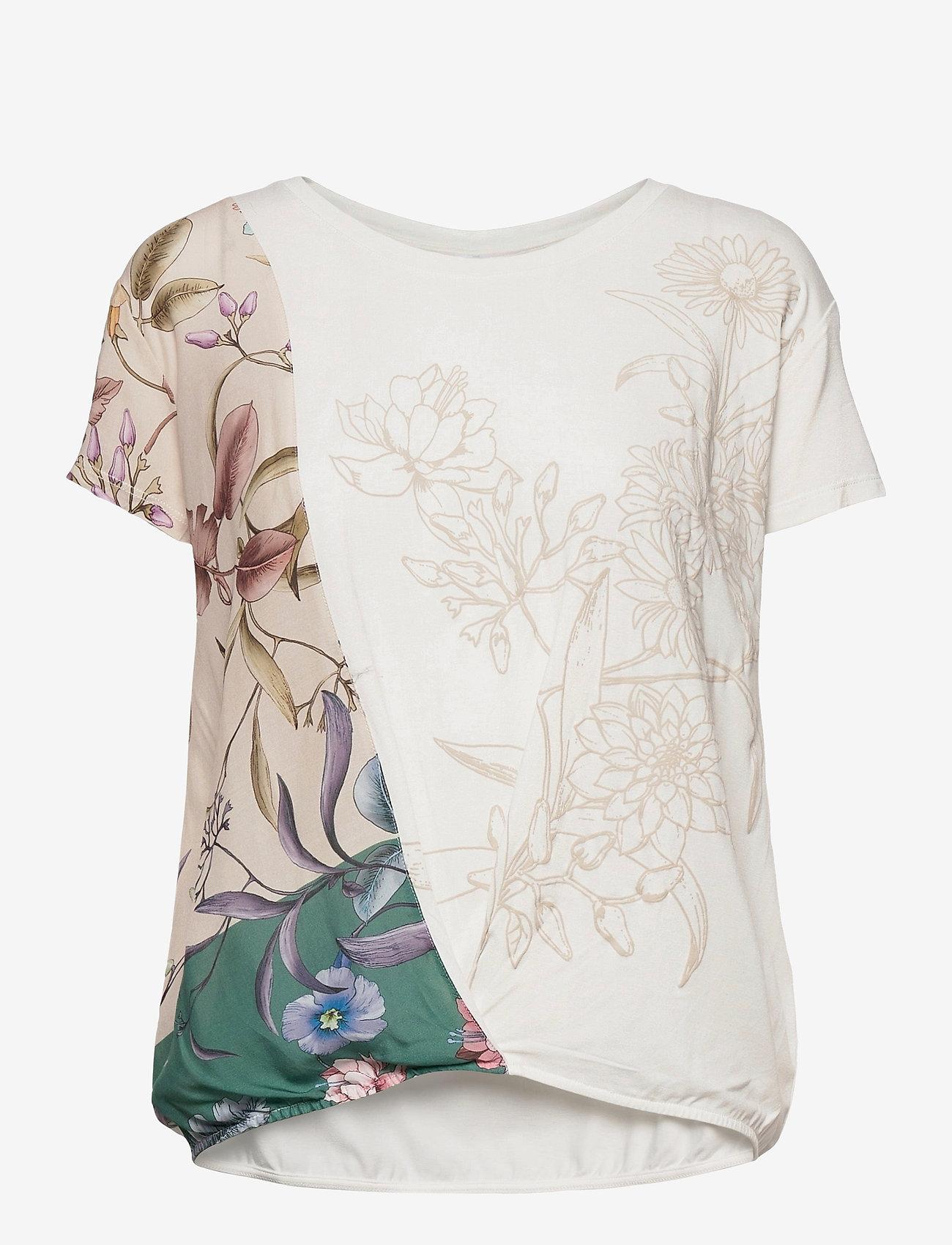 Desigual - TS EDIMBURGO - t-shirts - blanco - 0