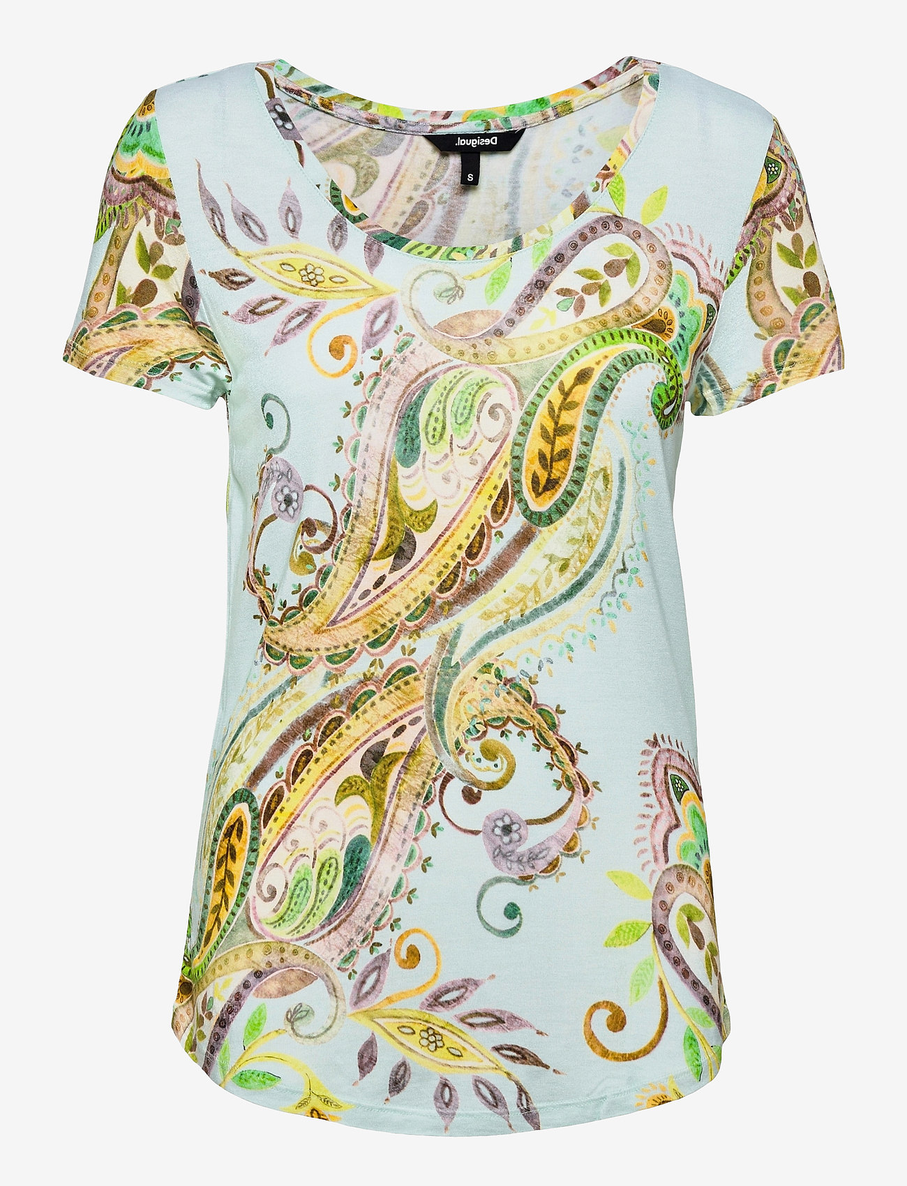 Desigual - TS MANDRAGORA - t-shirts - celeste - 0