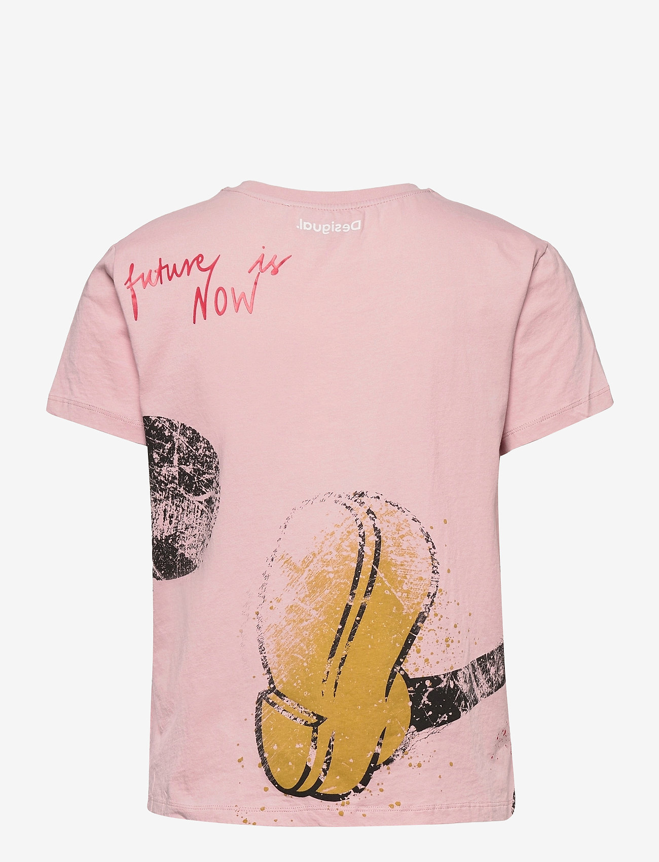 Desigual - TS OK MICKEY - t-shirts - candy pink - 1