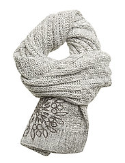 SCARF MANDALICIIOU - NEUTRAL GRAY