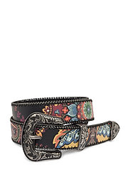 BELT INDIAN PASLEY - NEGRO