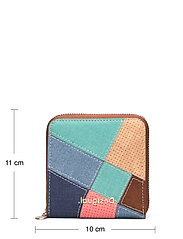 Desigual Accessories - MONE CENTAURI ZIP SQUARE - wallets - camel - 4
