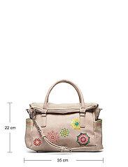Desigual Accessories - BOLS CARLINA LOVERTY - handväskor - crema - 4