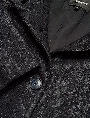 Desigual - ABRIG SIMONE - wełniane płaszcze - negro - 3