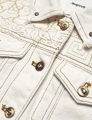 Desigual - CHAQ BARROC - vestes en jean - blanco - 2