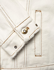 Desigual - CHAQ BARROC - vestes en jean - blanco - 3