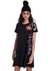 Desigual - VEST CAROLINE - korte jurken - negro - 0