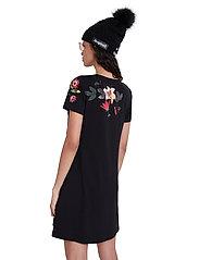 Desigual - VEST CAROLINE - korte jurken - negro - 3