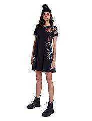 Desigual - VEST CAROLINE - korte jurken - negro - 4