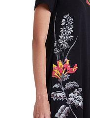 Desigual - VEST CAROLINE - korte jurken - negro - 5