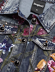 Desigual - CHAQ BALT - jeansjackor - denim medium dark - 2