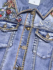 Desigual - CHAQ ATHLAS - jeansjackor - denim medium dark - 2
