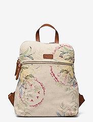 Desigual Accessories - BACK CALLIE NANAIMO - ryggsäckar - crudo beige - 0
