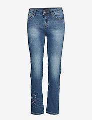 Desigual - DENIM SANFORD - jeans droites - denim dark blue - 0