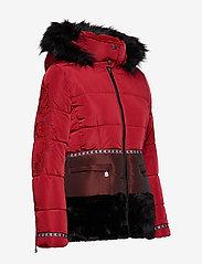 Desigual - PADDED SAKARI - wyściełane płaszcze - borgoÑa - 7