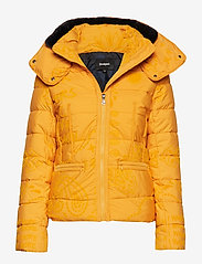 Desigual - PADDED SUNNA - padded jackets - banana - 0