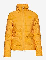 Desigual - PADDED SUNNA - padded jackets - banana - 3