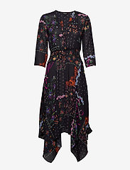 Desigual - VEST JANA - midi jurken - negro - 0