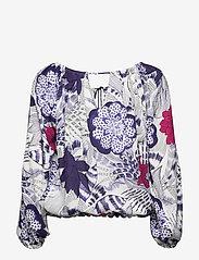 Desigual - BLUS VERONA - blouses à manches longues - navy - 1